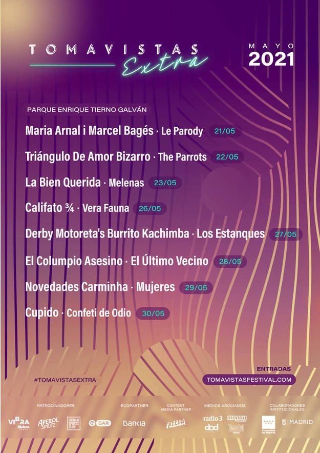 Tomavistas Extra 2021 (Madrid): Derby Motoreta's Burrito Kachimba, El Columpio Asesino, Triángulo de Amor Bizarro, La Bien Querida - Página 2 1616588275173
